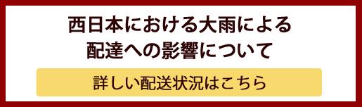 ムーミン公式オンラインショップPEIKKO 西日本における大雨による配達への影響について